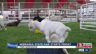 Nebraska State Fair starts Friday