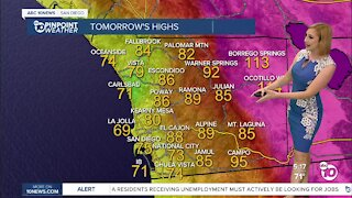 ABC 10News Pinpoint Weather with Meteorologist Leah Pezzetti