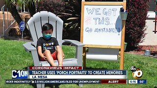 La Mesa teacher helping create memories for students despite closure