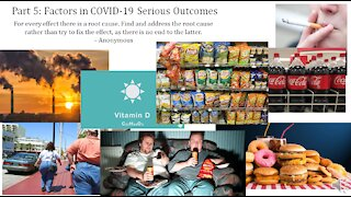 Infectious Disease History and Today - 5. COVID Factors