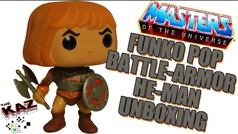 Battle Armor He-Man Funko Pop Unboxing