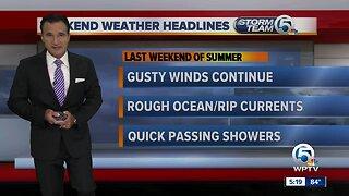 Friday night forecast