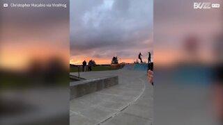 Faire du skateboard peut être douloureux