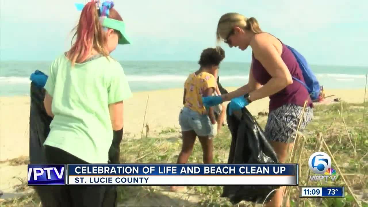 Beach cleanup 11 p.m.