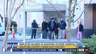 Employee shot outside University of Maryland Medical Center