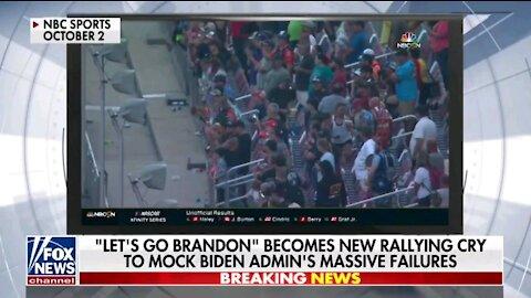 "the rapid spread of the ""Let's Go Brandon"" phenomenon"