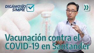 Cinco datos sobre vacunas en Santander