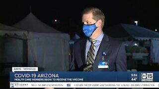 Arizona health care workers to begin receiving C19 vaccine