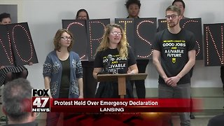 Protests planned in Michigan against President Trump's national emergency