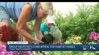 Tell Me Something Good: Tulsa Master Gardeners brighten Habitat homes