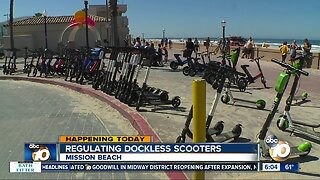 New regulations for scooters in San Diego possible