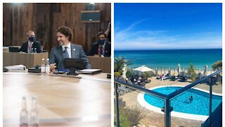 This Is The Luxurious Beachside Hotel Trudeau & World Leaders Are Staying At For The G7