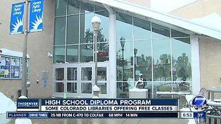 High School diploma program at some Colorado libraries