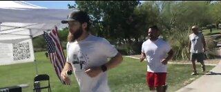 Las Vegas man runs 100 miles to bring awareness to veteran suicide