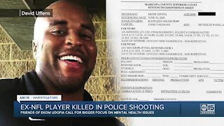 Ex-NFL player killed in police shooting