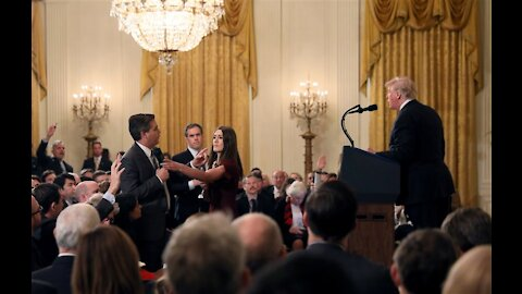 President Trump clashes with CNN Jim Acosta at White House 2018