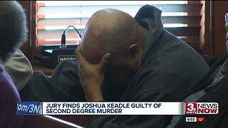 Jury Finds Joshua Keadle Guilty of Second-Degree Murder