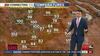 23ABC Evening weather update for July 31, 2020