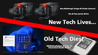 DrBill.TV #497 - The Old Tech Dies, New Tech Lives Edition!