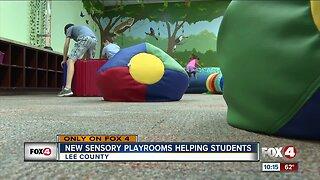 Heights Elementary opens sensory room