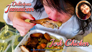 Delicious Jamaican Jerk Chicken :)