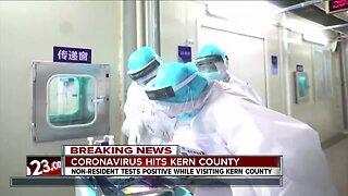 First case of coronavirus confirmed in Kern County