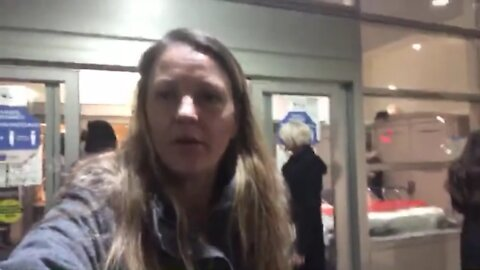 PART 2 Gail Meyer Being Detained At Hospital for Legally Refusing Covid Test and Vaccine.