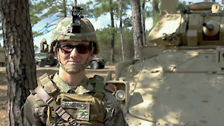 Mississippi National Guard First Female Cavalry Scout