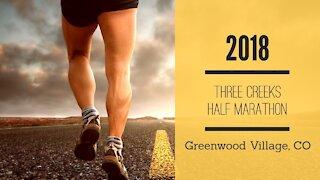 2018 Three Creeks Half Marathon