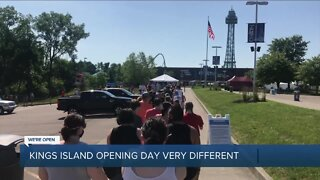 Kings Island finally opens, with lots of changes