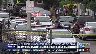 Republicans unveil legislation to combat violent crime in Baltimore
