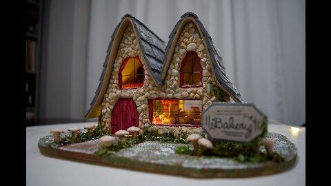 19-Hour Fairy Garden Bakery Build in Under 12 Minutes