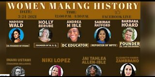 WPTV's Sabirah Rayford featured on Women's History Month panel