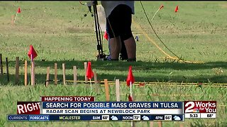 Day 6 of mass graves search continues in Tulsa