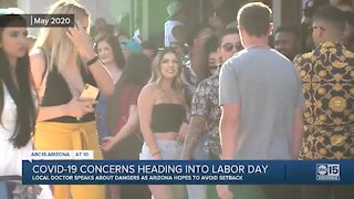 Health experts concerned Labor Day weekend could lead to rise in COVID-19 cases