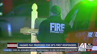 Hazard pay proposed for Overland Park first responders