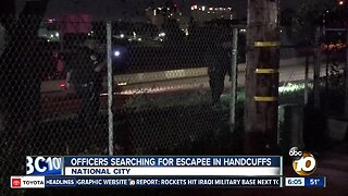 Handcuffed woman escapes from National City police officers
