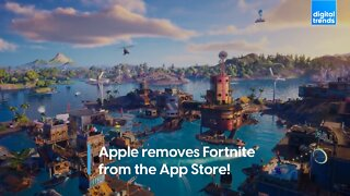 Apple removes Fortnite from the App Store!