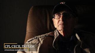 World War II Veteran speaks