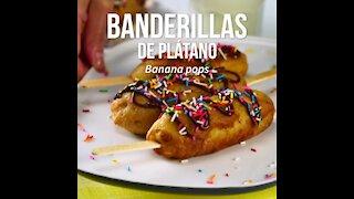 Banderillas de Banana