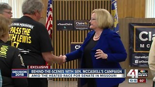 Behind-the-scenes with Sen. McCaskill's campaign