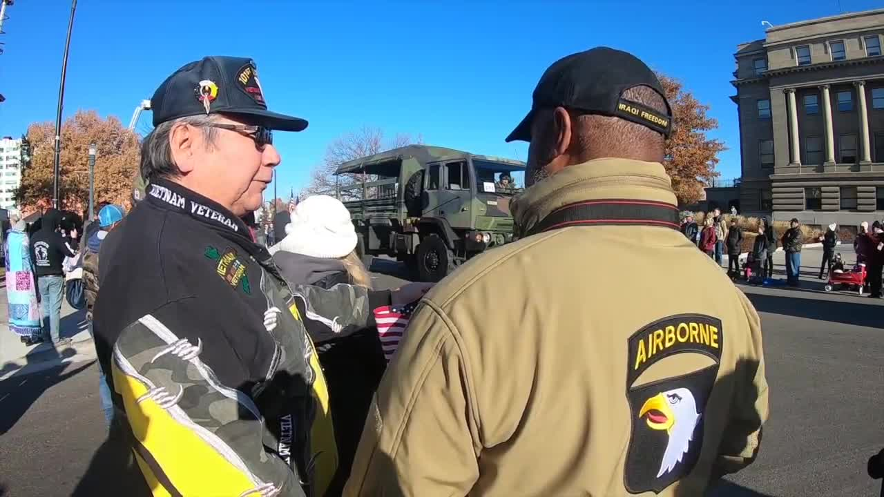 Boise Veterans Parade recognizes our nation's heroes