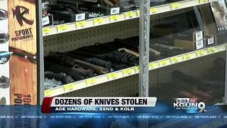 Popular hardware store is robbed