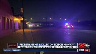Pedestrian Hit & Killed on Edison HWY