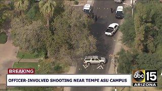 Officer-involved shooting near Tempe ASU