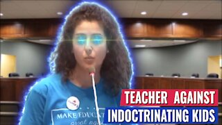 TEACHER SPEAKS OUT AGAINST SCHOOLS INDOCTRINATING KIDS TO HATE AMERICA AND LOVE SOCIALISM