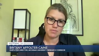 Executive Director of Michigan's University Research Corridor Britany Affolter-Caine