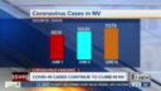 COVID-19 cases continue to climb in Nevada