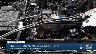Mexican food restaurant in Mesa destroyed in overnight fire