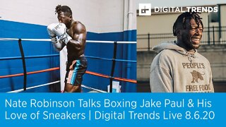 Nate Robinson Talks About his Upcoming Fight   Digital Trends Live 8.6.20